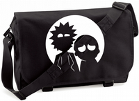 RICK AND MORTY MOON M/BAG - INSPIRED BY RICK AND MORTY